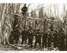 Vintage 10 Big Bucks Buck Pole Winchester Rifles Whitetail Deer Hanging Bear WOW