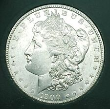 Extremely Beautiful UNC 1900 Morgan Silver Dollar, Estate Find