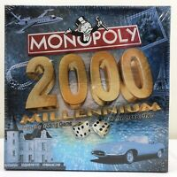 Monopoly 2000 Millenium Edition Property Trading Game Parker Brothers Sealed