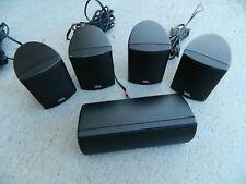 New listing Jbl 5 Speaker Surround System 135Cen Center Speaker & 4 135Sat w/some cables