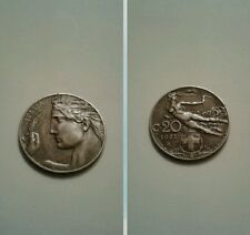 20 centesimi donna librata 1921 ottima