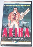 1 VHS FILM ANIME CULT MANGA CYBERPUNK MOVIE OTOMO,AKIRA,PRIMA EDIZIONE ANNI 1992