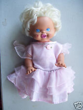 """1996 Micro Games Sing & Giggle Battery Operated 14"""" Tall American Doll"""