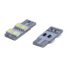 Veilleuse 2X w5w T10 4 LED 5050 SMD Canbus SANS ERREUR ODB 360 Blanc XENON feux