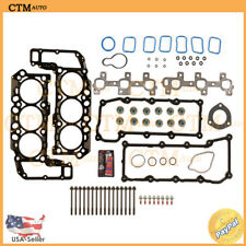 Fits: 2002-2005 Jeep / Dodge 3.7L V6 VIN Code K MLS Head Gasket Set & Bolts