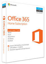 Microsoft Office 365 Home, 1 anno, ESD (Italiano) (5x PC/MAC)