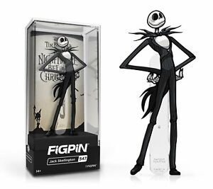 In Stock: FiGPiN Classic: NIGHTMARE BEFORE CHRISTMAS - Jack Skellington(#547)