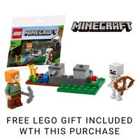 LEGO Minecraft: The Skeleton Defense 30394 Includes Alex & Skeleton Minifigures