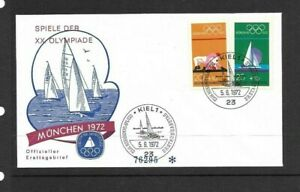 Germany 1972 Olympic Games FDC (D)