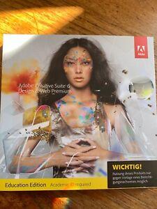 Adobe Creative Suite 6 Paket für Design & Web Premium Education Edition Mac