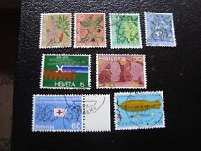SUISSE - timbre yvert et tellier n° 972 a 979 obl (A2) stamp switzerland