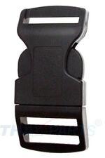 10 St. Steckschnalle 25mm gebogen Acetal Steckverschluss Gurtband Steckschnallen