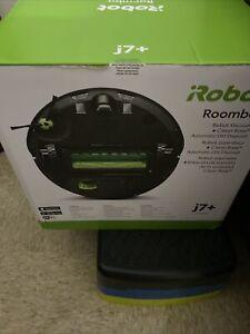 iRobot Roomba j755020 j7+ Plus Robot Vacuum Cleaner & Clean Base NEW