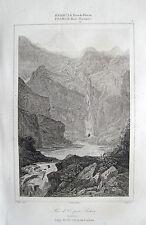 LAGO DE OO LAC D'OÔ BAGNÈRES-DE-LUCHON PYRENÄEN PYRÉNÉES 1847 PIRINEOS