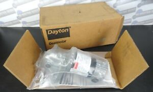 "DAYTON - 1LRA9 PMDC Industrial Gear Motor 1/20 hp, 6 RPM, 90 Volts, 1/2"" (NEW)"