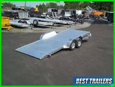 2018 aluma 8218 Tilt carhauler trailer equipment gravity tilt 7 x 18 aluminum