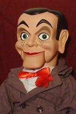 "HAUNTED Ventriloquist doll ""EYES FOLLOW YOU"" puppet creepy dummy Slappy OOAK"