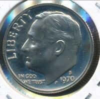 United States, 1970-S Roosevelt Dime 10c - Proof