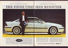 OPEL CALIBRA -  alte Annoncen -  vintage  adverts - Werbung - KONVOLUT - LOT