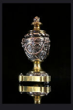 L. Oudry pres editeurs depose, aprox. 1880. a French bronce Silver & se aplica Inkwell