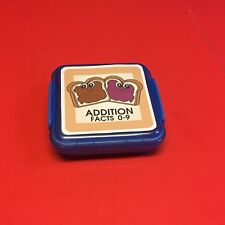 Peanut Butter Jelly - Addition Facts 0-9 Matching Game 48 Cards with St 00004000 orage box