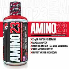 PRO SUPPS   AMINO 23 Liquid Amino   23g Protein, Recovery   Vanilla, 32 Fl Oz