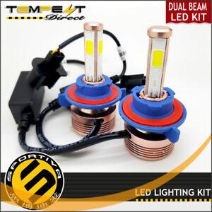 Sportiva LED Headlight Kit 80W 8000LM 4-Side 6000K Crystal White Bulbs 1 Pair