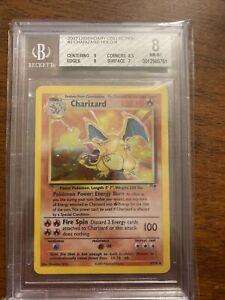 2002 Pokemon Charizard Legendary Collection - Holo 3/11- Beckett 8