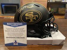 Joe Montana Autographed San Francisco 49ers Eclipse Mini Helmet Beckett #1