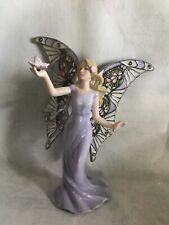 "Bradford Exchange Garden Fairies Series ""Graceful Beauty� New In Package"