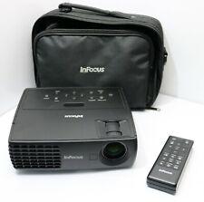 InFocus 3D Ready WXGA Projector 2200 Lumens DLP HDMI USB + Storage IN1112a Cheap
