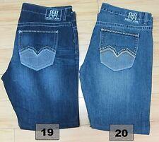 New Men's REQUEST JEANS Denim Design Regular Straight Fit Pants