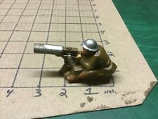 Vintage 1940's Manoil BARCLAY  Lead Soldier Army Machine Gunner - so clean