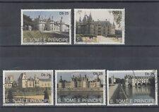 timbres châteaux st tomé & principe