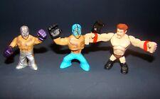 "2"" WWE Mini Figures wrestlers Luchadores"