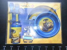 ♥ DISNEY PIXAR WALL E Set Tavola Piatto Posate Bicchiere Scodella WALL-E ♥
