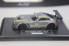 Fronti Art Mercedes AMG GT3, Präsentation, grau-met. #1, Avan Style 021 - 1:87