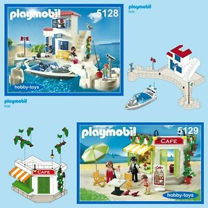 Playmobil 5128 5129 5133 5625 Harbour Police & Cafe * SPARE PARTS SERVICE *