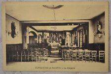 """CPA """" CLINIQUE DE LA SABLETTE - La Chapelle"""