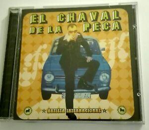 EL CHAVAL DE LA PECA - ARTISTA INTERNACIONAL - CD ALBUM - VERSIONES POP SPAIN