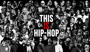 This Is Hip Hop Rap Legends XXL OVER 1 METER WIDE Glossy Poster **UK SELLER**