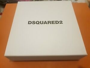 """Dsquared2, Gift Box, size: 240x240x60mm """"Empty""""  Used nice condition"""
