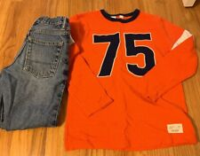 Gap Boys Lot Size Med 8 Slim Jeans And 8 Top