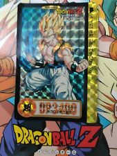 DRAGON BALL Z GT DBS DBZ HALF CARD MINI CARDDASS CARTE NO.74 JAPAN NM