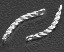 13mm incurvé twist Connecteur Nickel Platine bars couleur libre (box77)