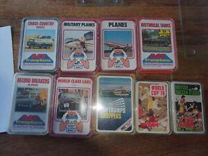 Vintage Top Trumps Bundle of nine - Used