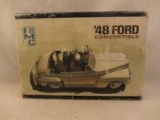 IMC  Vintage - '48 Ford Convertible  Model Kit   1:25 scale  ( 618HJJ )  105-200