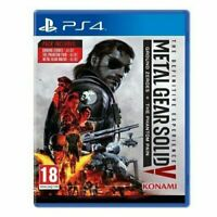 PS4-Metal Gear Solid V (5): Definitive Experience PS4 Game - Gift Idea - NEW