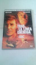 """DVD """"TRAS LA LINEA ENEMIGA"""" EDICION ESPECIAL OWEN WILSON GENE HACKMAN JOHN MOORE"""
