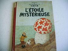 TINTIN L' ETOILE MYSTERIEUSE 4e plat B 21 - 1957